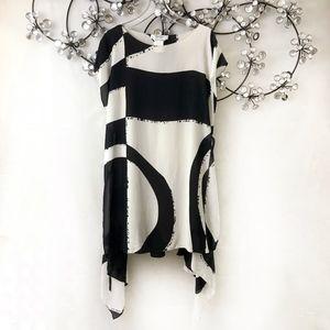 MaxMara Layered Silk Dress
